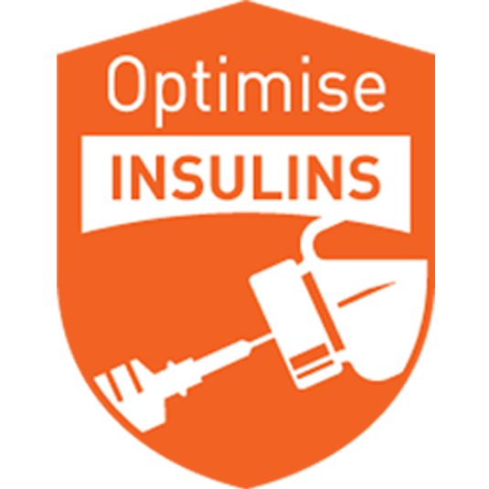 Safer use of insulin - Focus on adjusting dose according to blood glucose levels