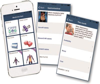 CPPE News: Medicines Quiz app