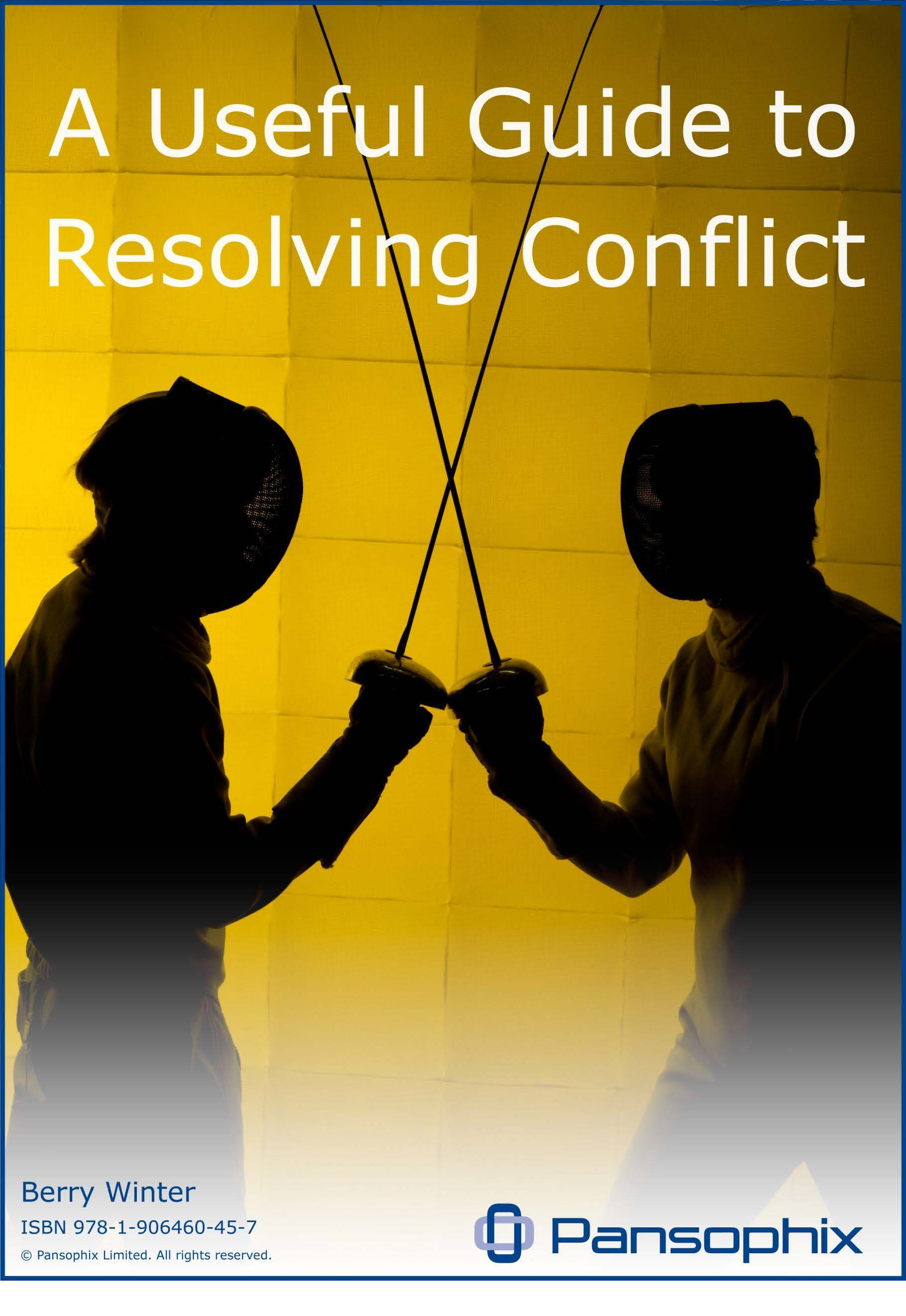 resolving conflicts essay Strategies for resolving conflict conflict is inevitable even though some conflict can be good most of the time other times it can be harmful to a team.
