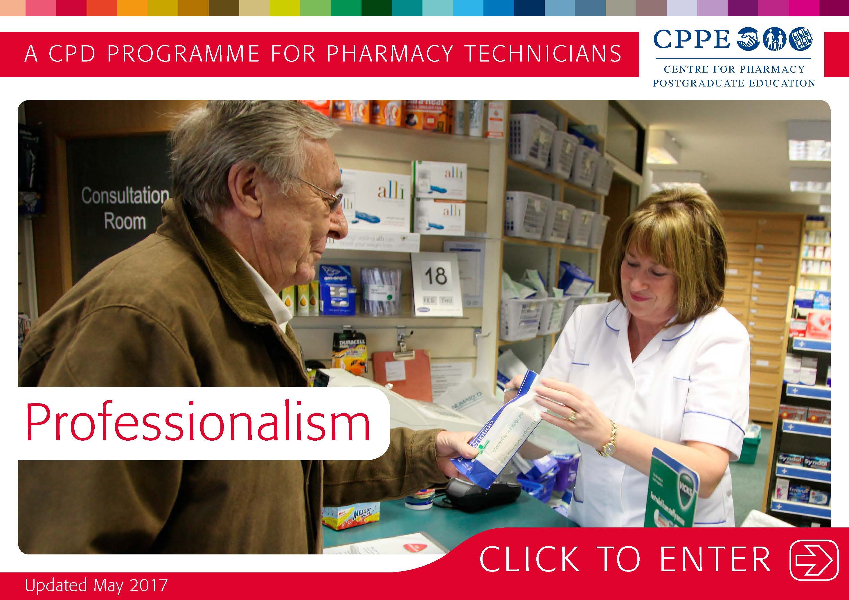 professionalism a cpd programme for pharmacy technicians cppe view programme taster